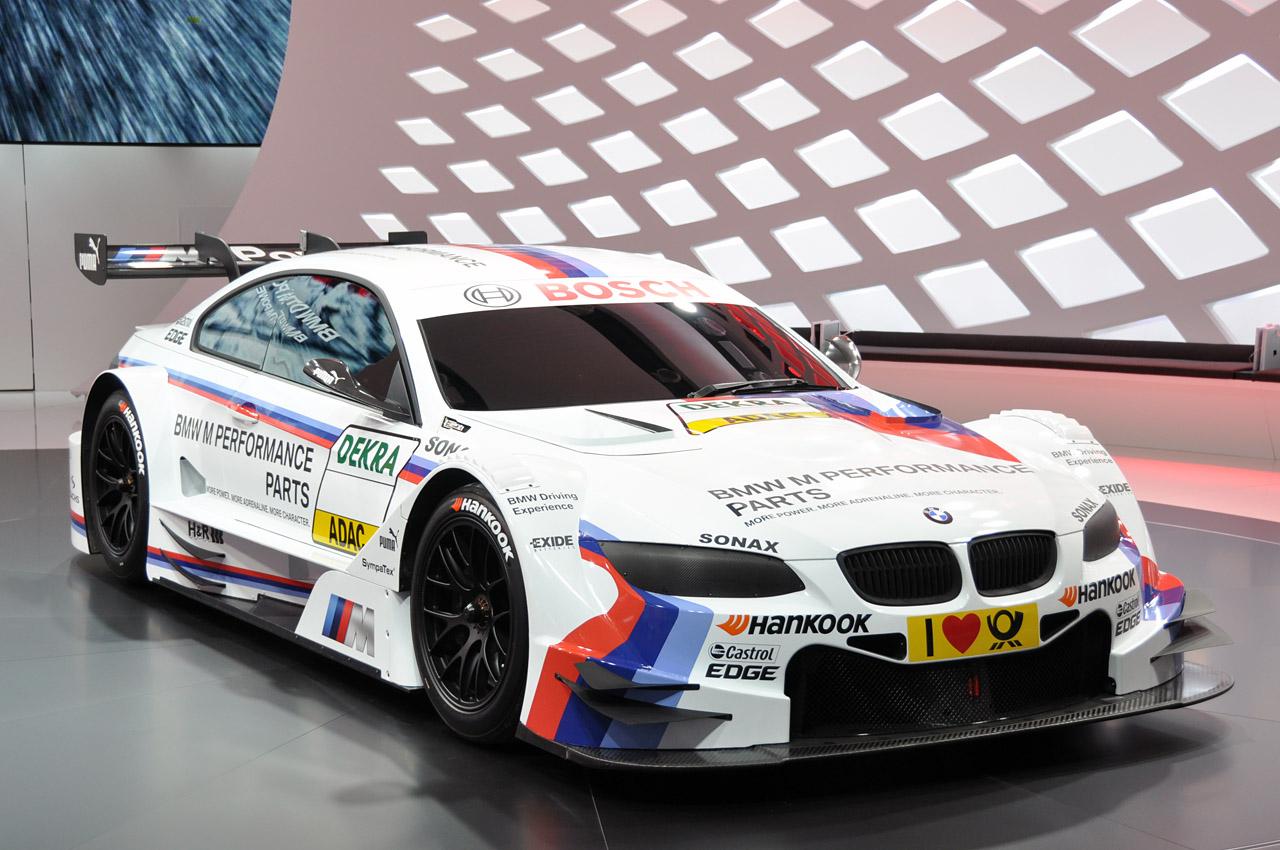 2012 BMW M3 DTM racer