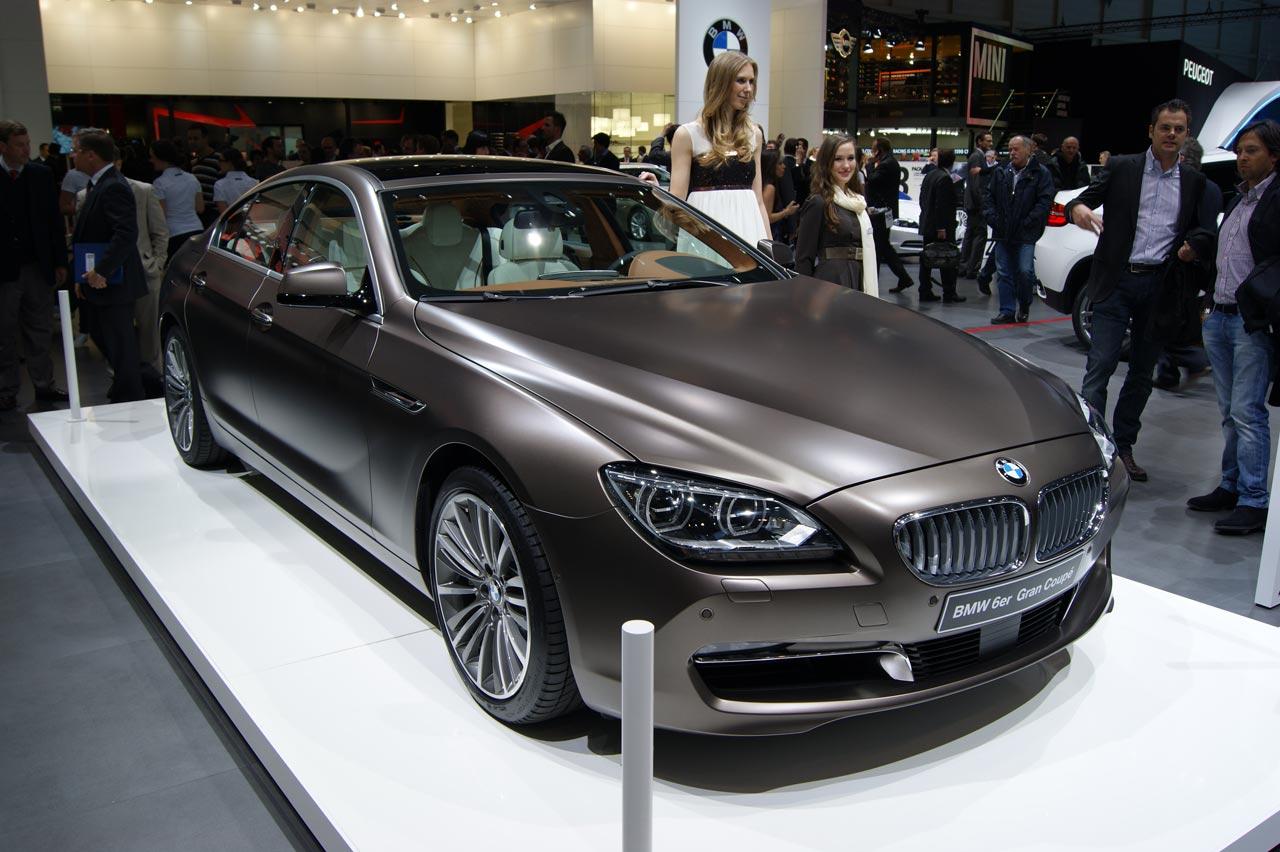 BMW 6 Series Gran Coupe in Geneva