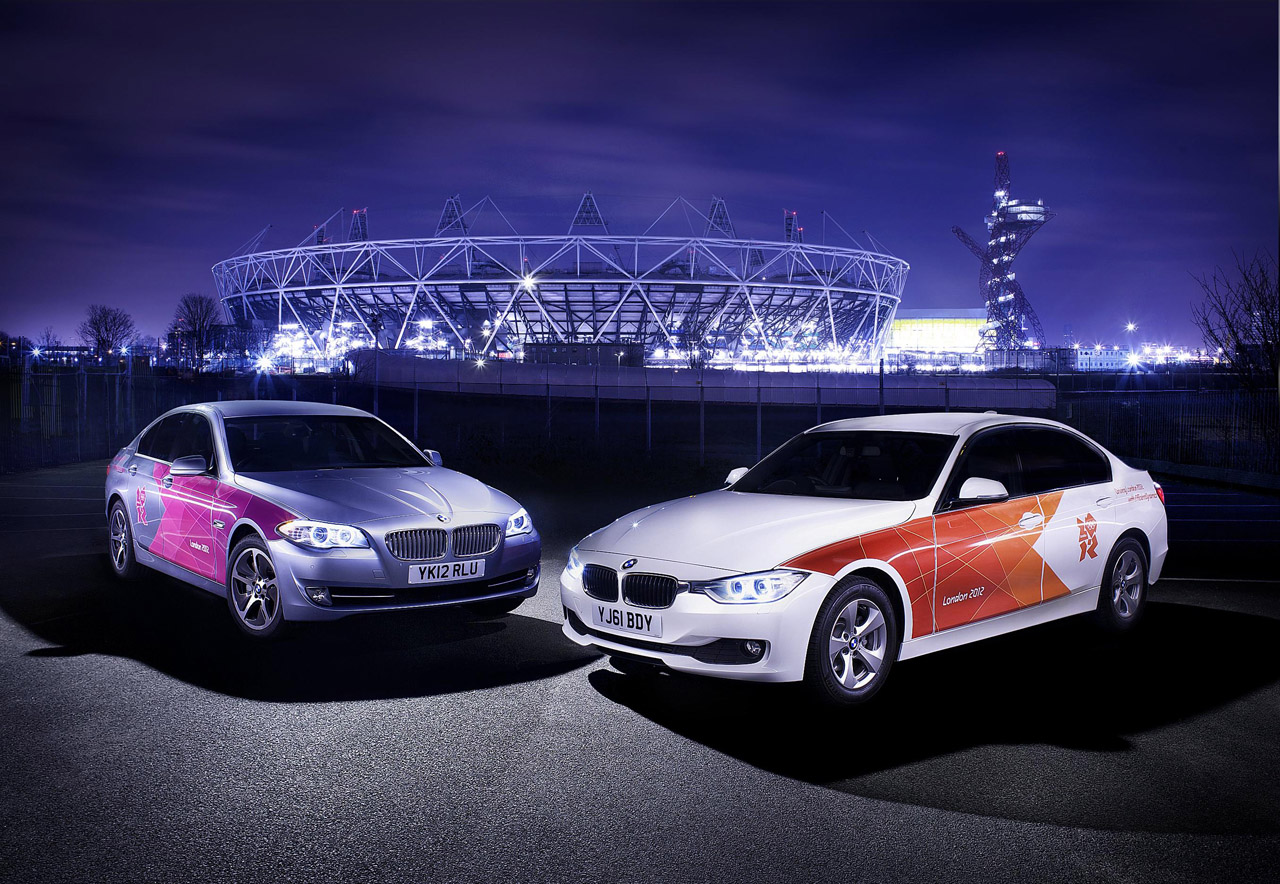 BMW Olympic livery