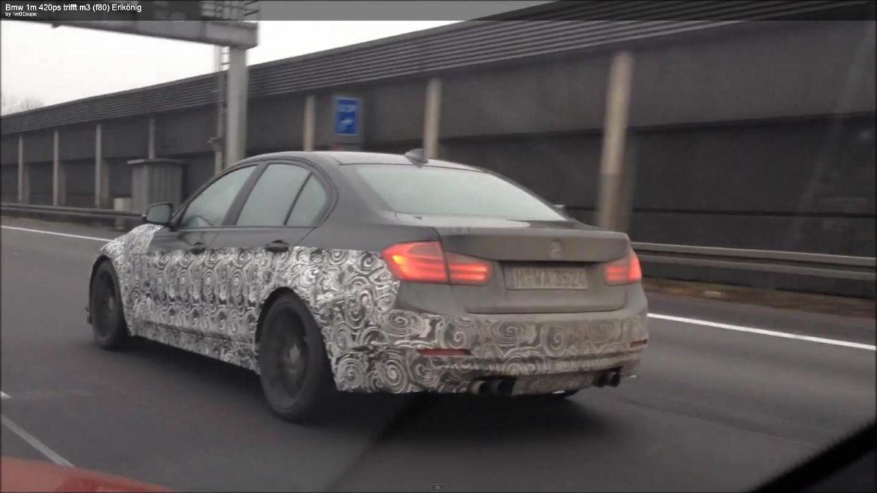 F30 BMW M3 spied
