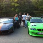 LIME BMW M3 GTR CSL LOOK