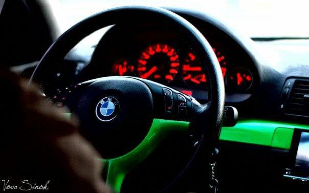 LIME BMW M3 GTR CSL LOOK INTERIOR
