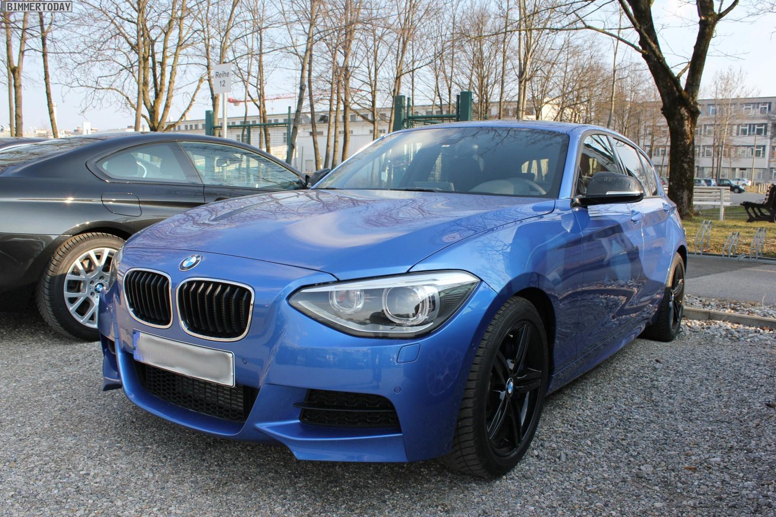 Spied F20 BMW M135i