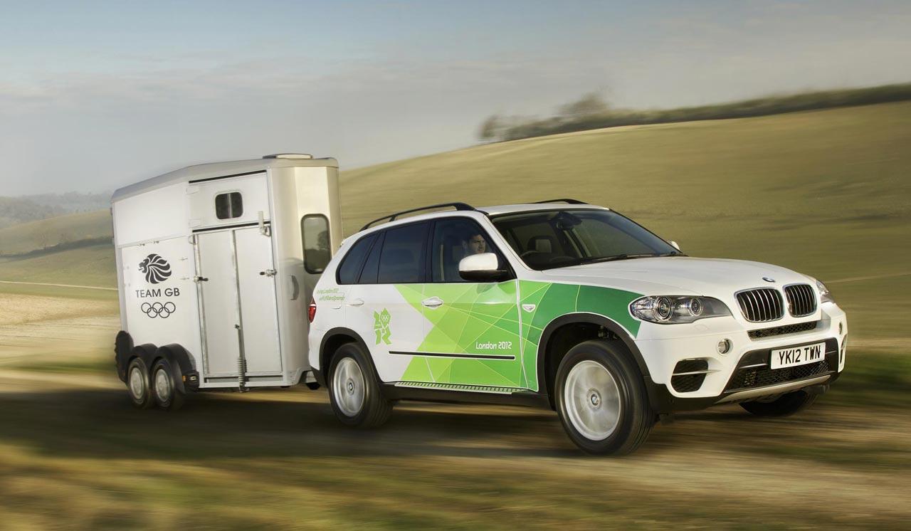 BMW 2012 Olympics fleet