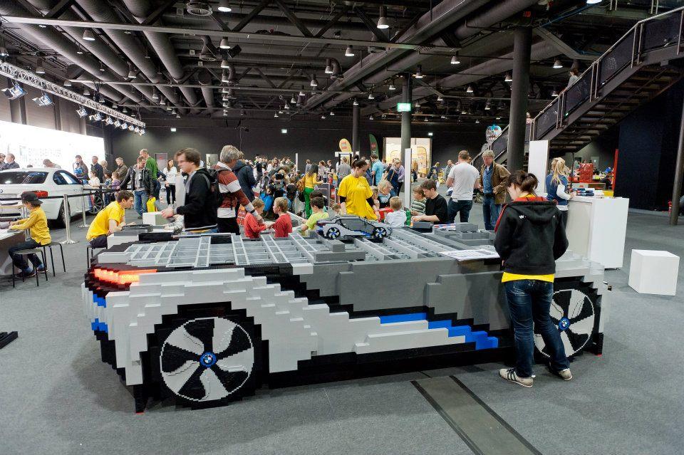 BMW i8 LEGO replica