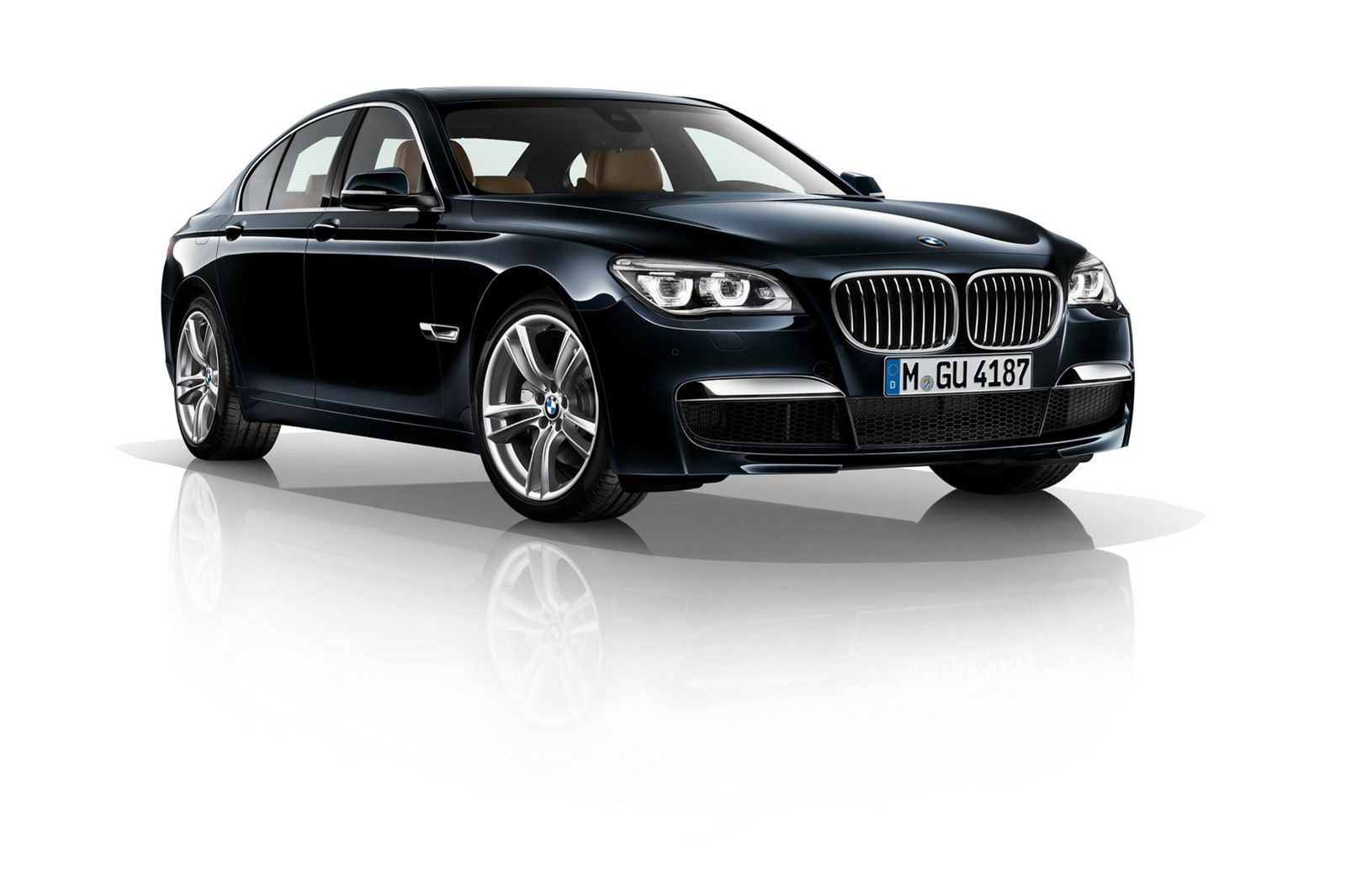 F01 BMW 7 Series facelift