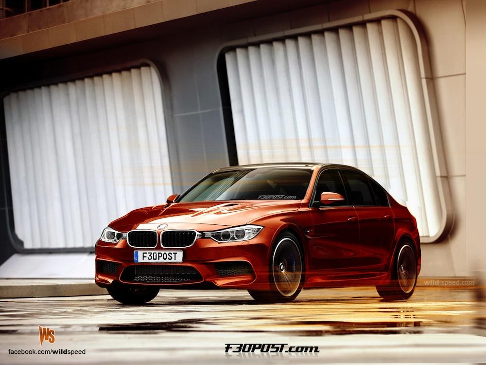 F30 BMW M3 render