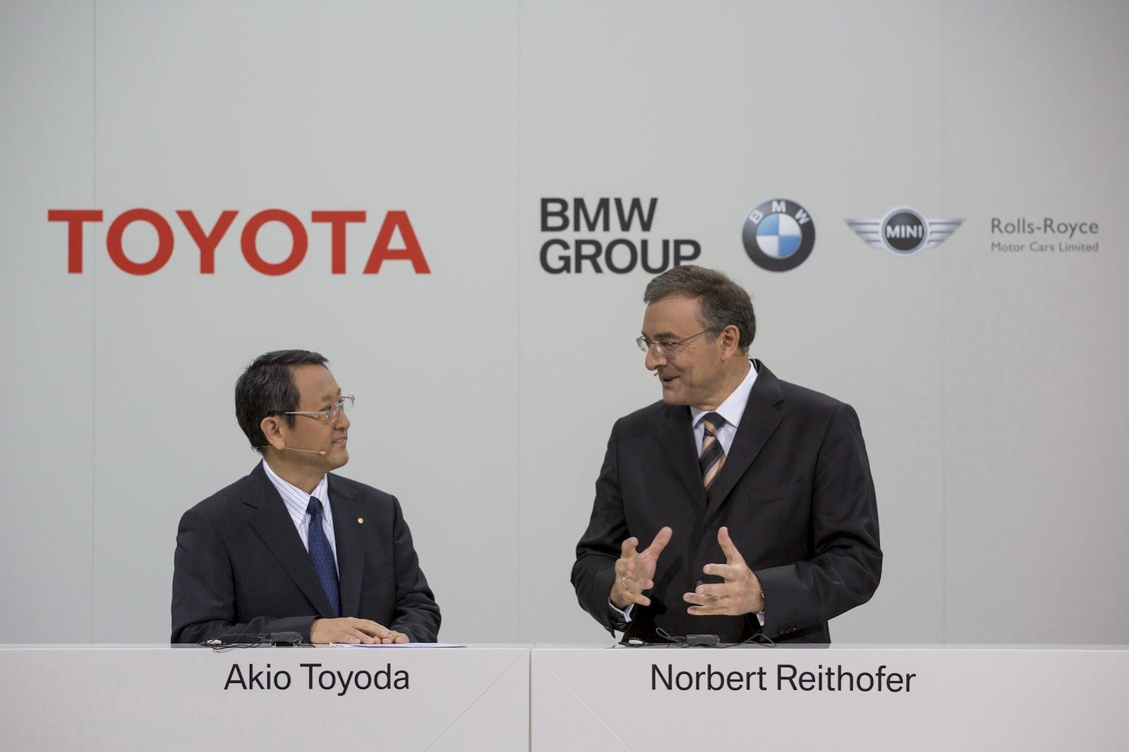 Akio Toyoda & Norbert Reithofer