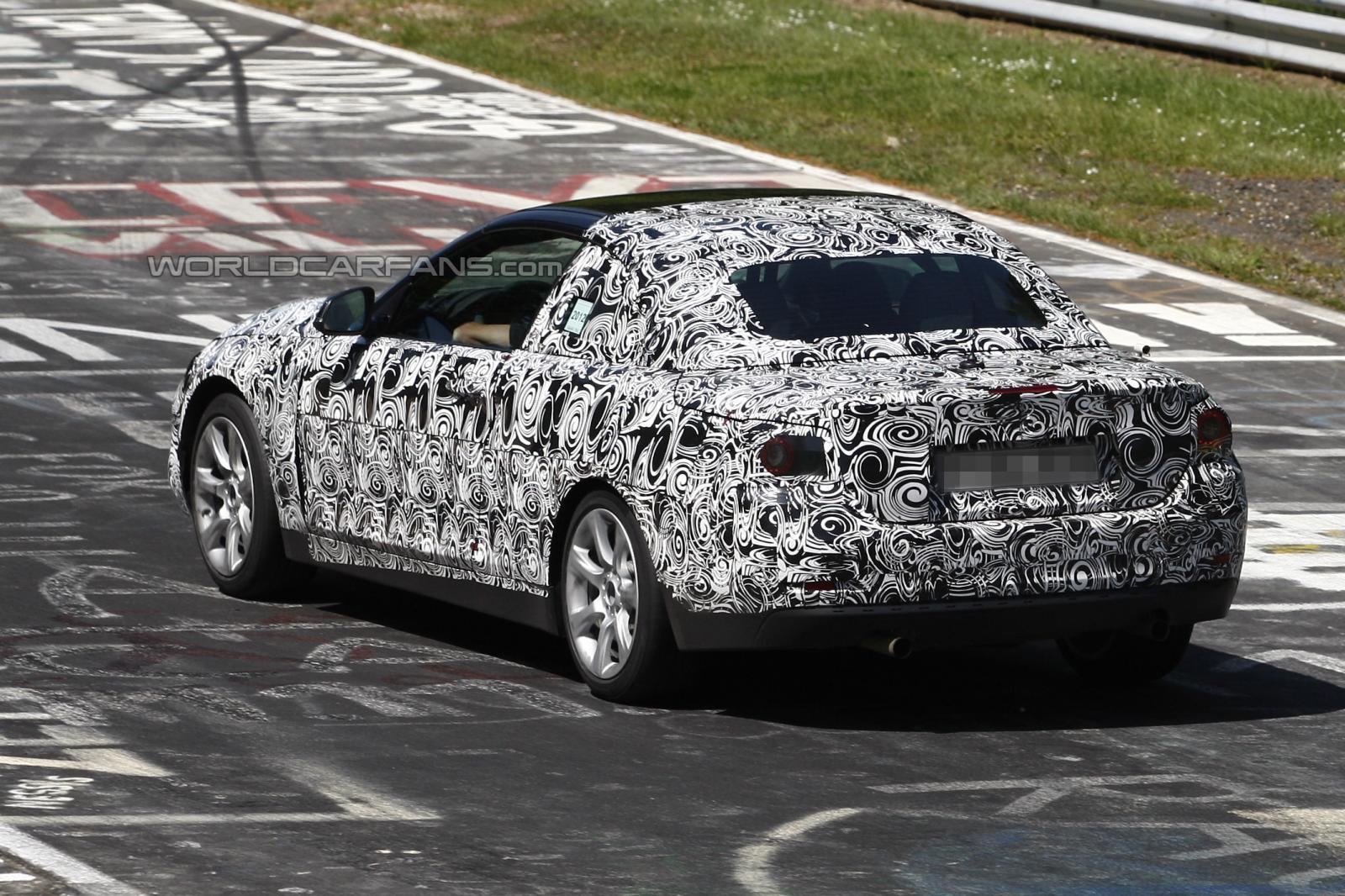 BMW 4 Series spyshots