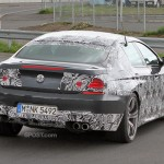 BMW M6 Gran Coupe spied