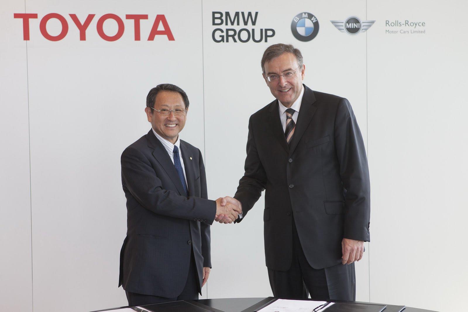 BMW Toyota partnership