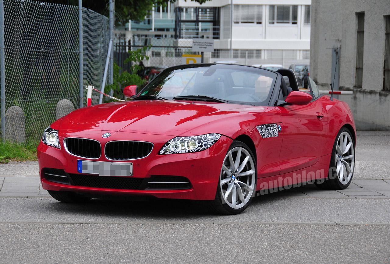 BMW Z4 facelift spyshots