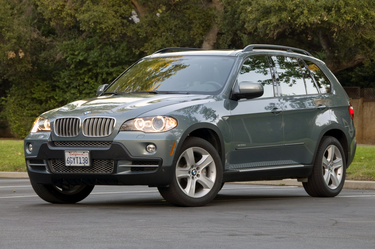 Diesel powered BMW X5