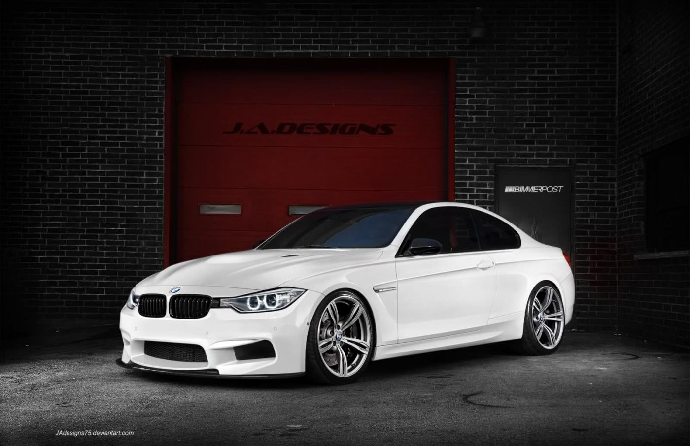 F30 BMW M4 Coupe render