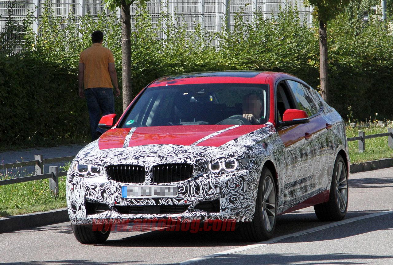 BMW 3 Series GT Spyshot