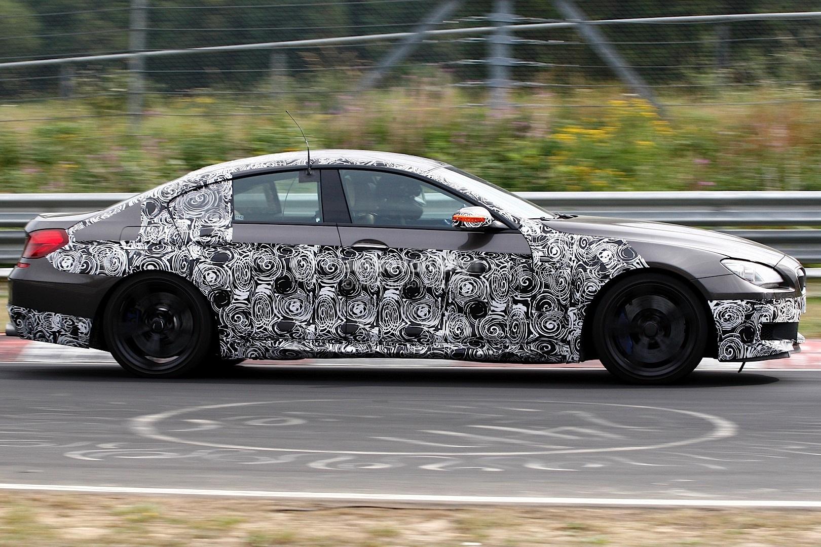 BMW M6 Gran Coupe spyshot