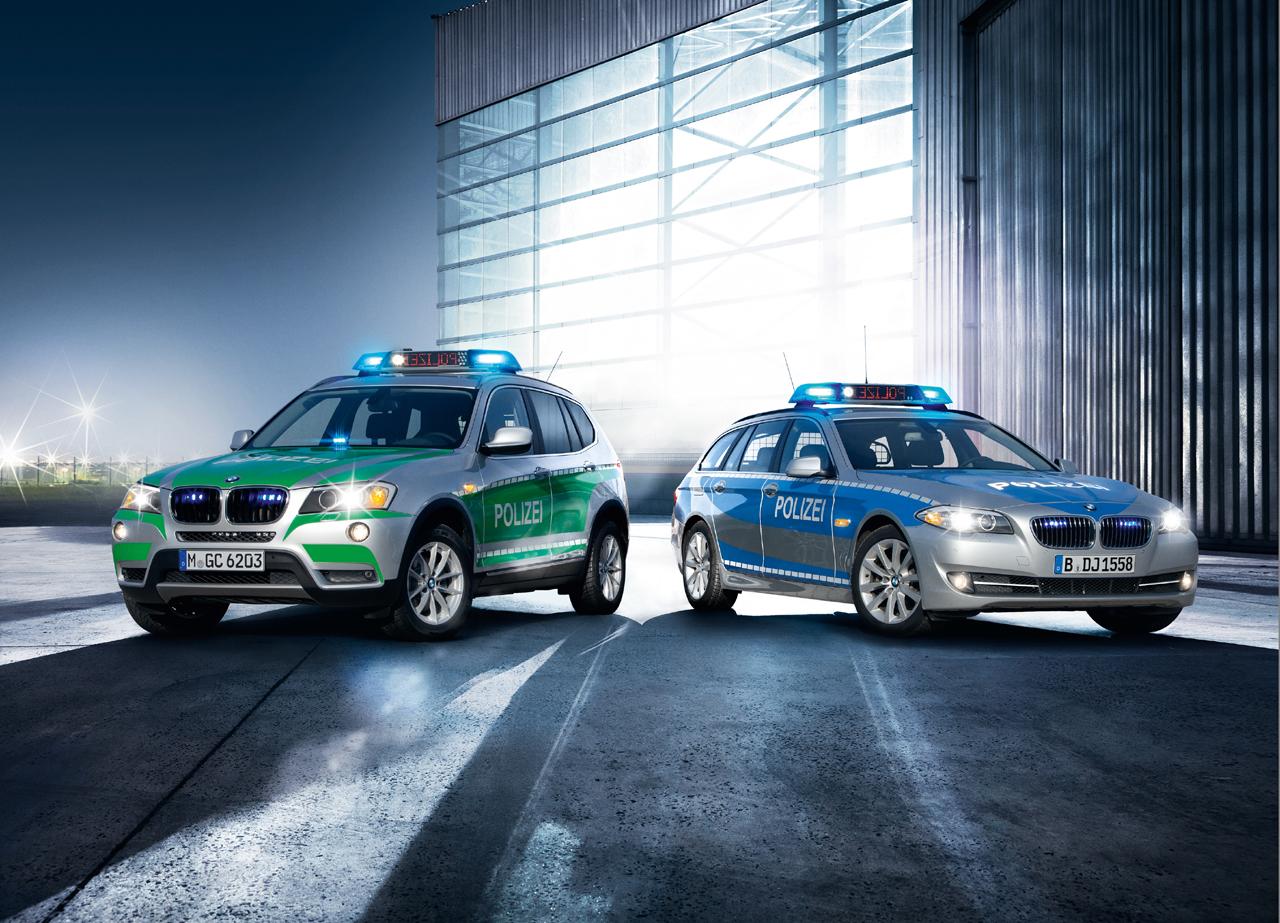 BMW Police vehicles