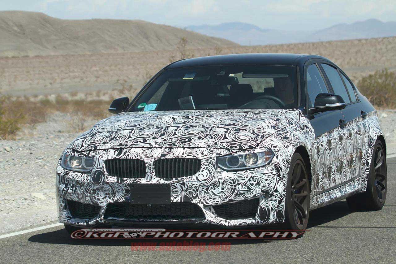 F80 BMW M3 spyshot