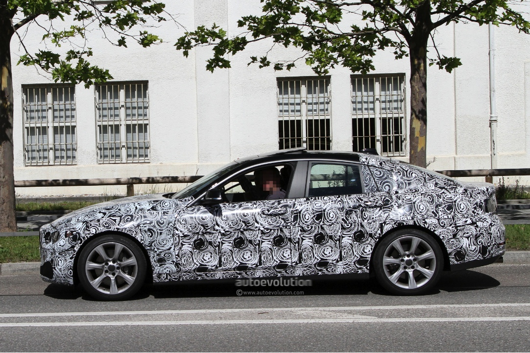 BMW 4 Series Gran Coupe spied