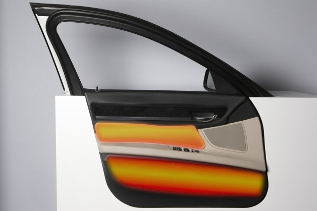 BMW Infrared heating