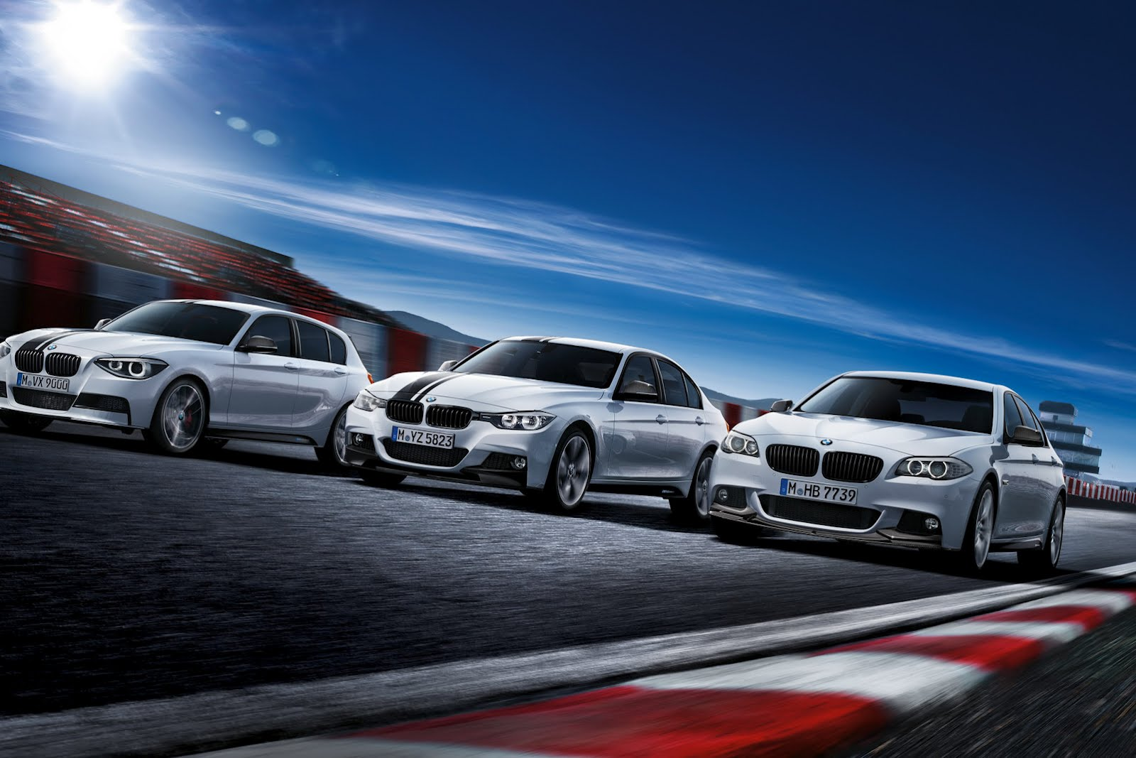 BMW M Performance lineup