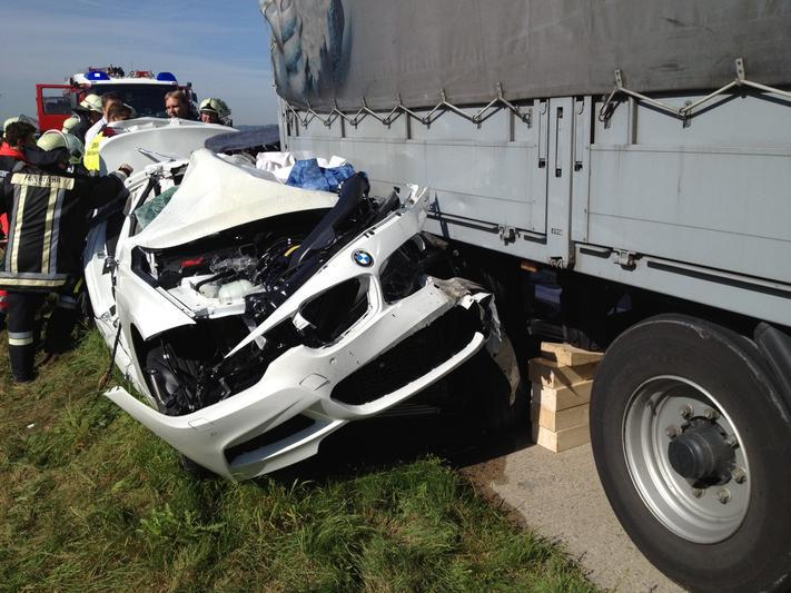 F10 BMW 5 Series accident