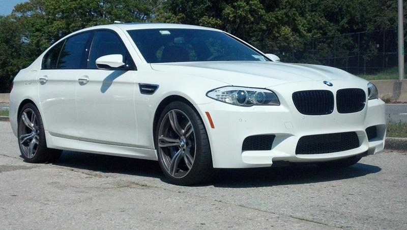 F10 BMW M5 Quarter mile