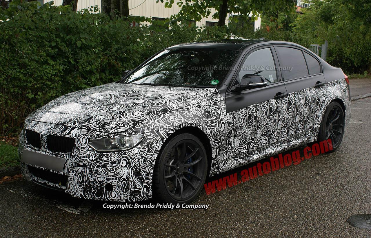 F80 BMW M3 Spyshots