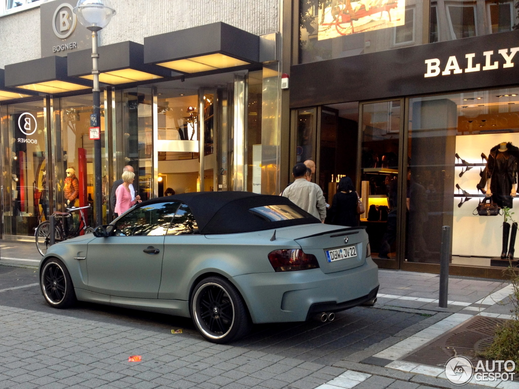 BMW 1 Series M Coupe Convertible