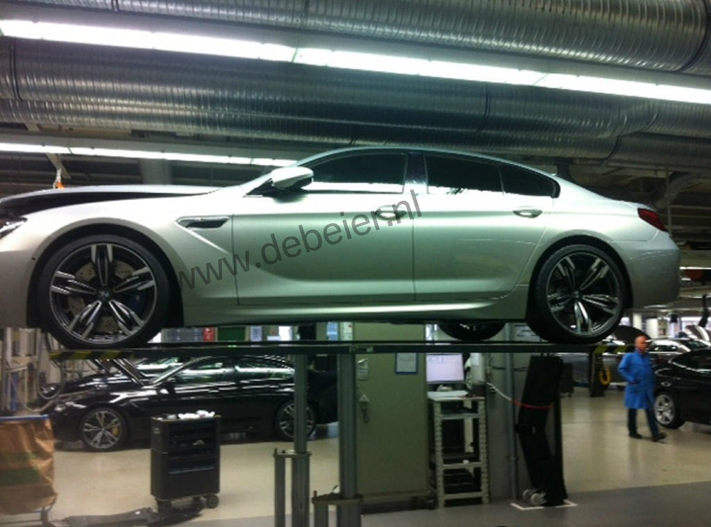 BMW M6 Gran Coupe leaked
