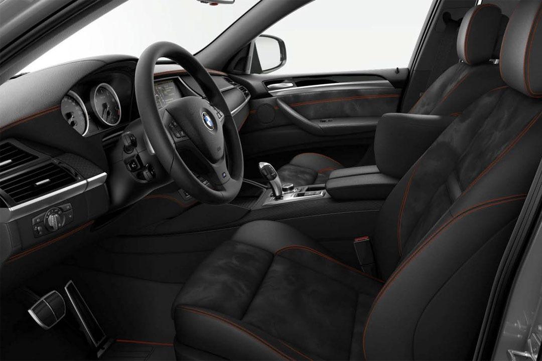 E71 BMW X6 Frozen gray