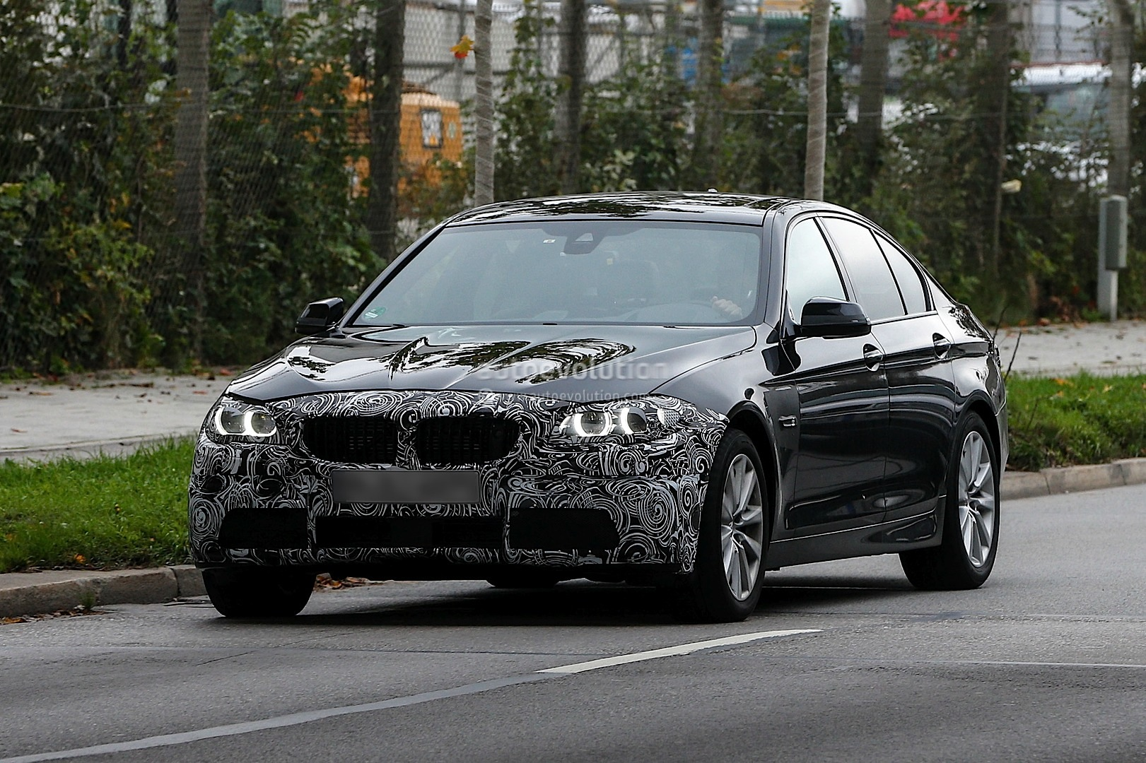 F10 BMW 5 Series facelift