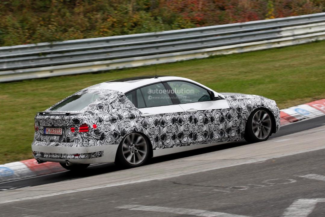 F30 BMW 3 Series GT spied