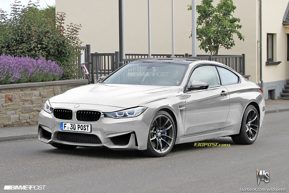 F82 BMW M4 rendering