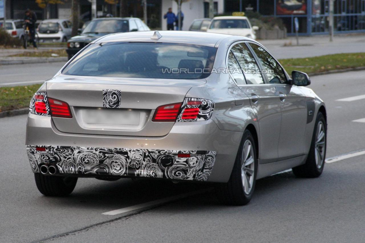 2014 BMW 5 Series prototype