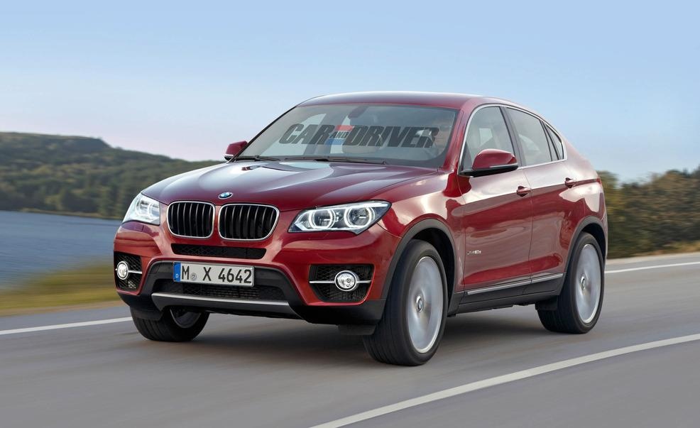 2014 BMW X4 Rendering