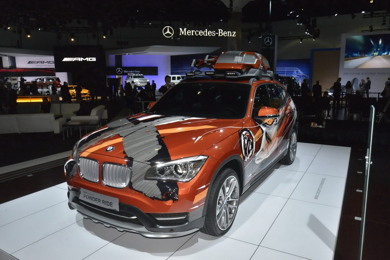 BMW Concept X1 K2 Power Ride