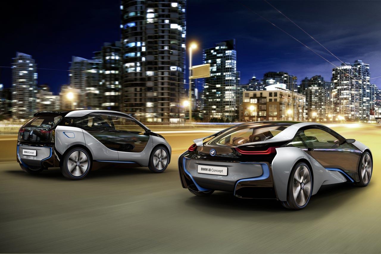 BMW i lineup