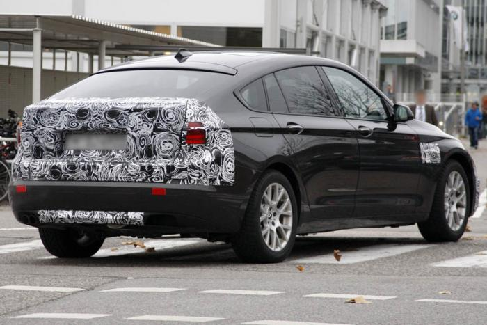 F07 BMW 5 Series GT Spied
