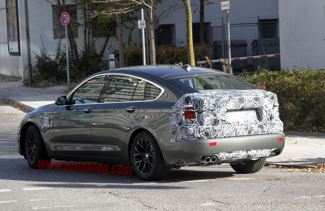 F07 BMW 5 Series GT facelift spied