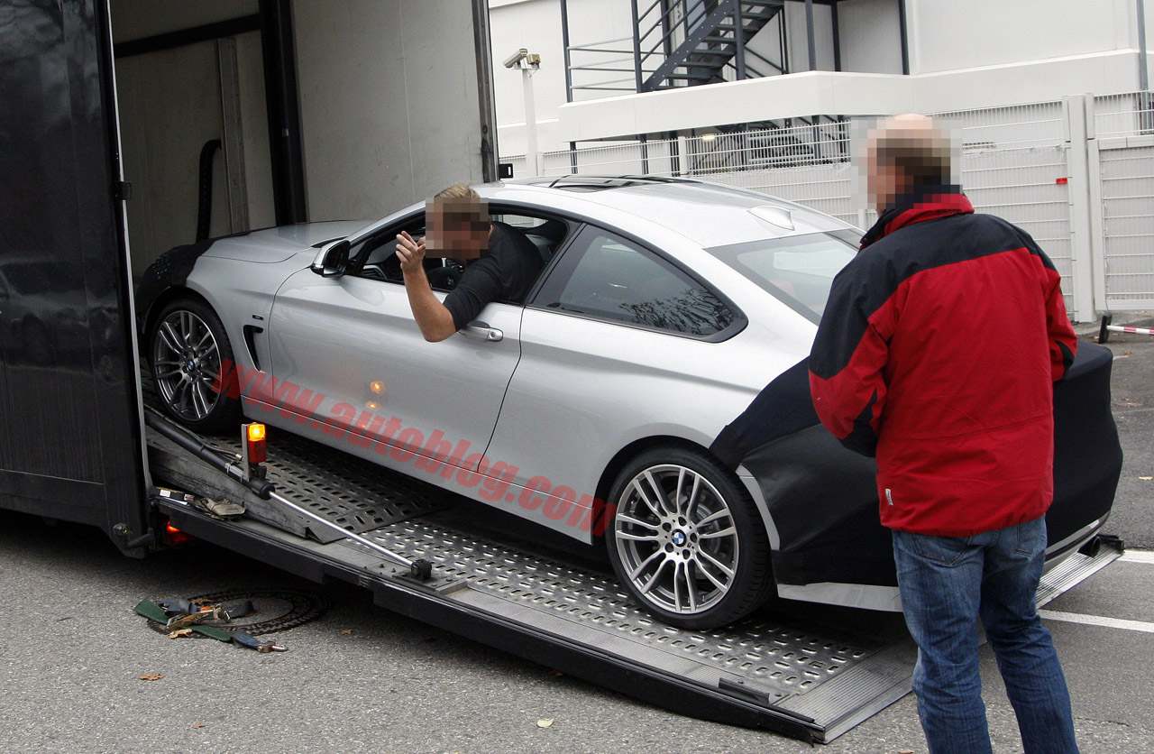 F32 BMW 4 Series Coupe spied