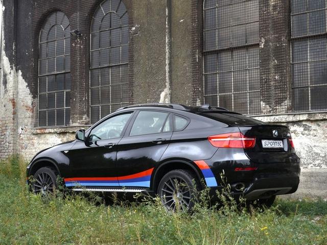 BMW X6 tuned by Sportec