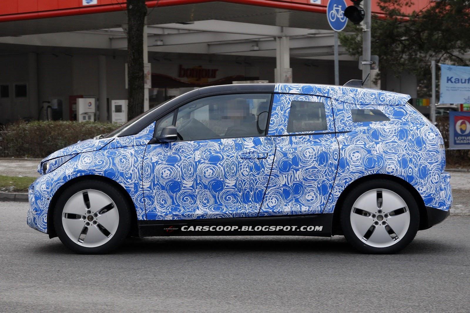 BMW i3 spyshot