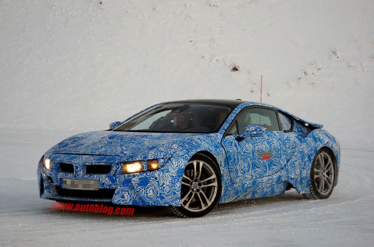 BMW i8 spyshot