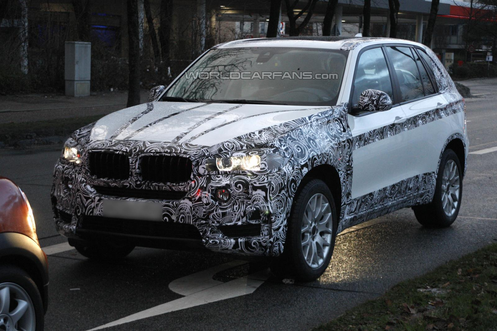 F15 BMW X5 spied