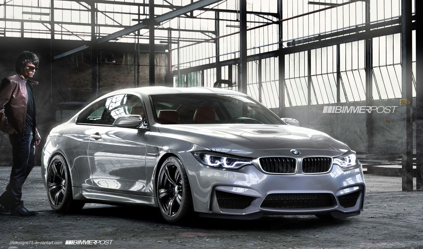 F82 BMW M4 Coupe Rendering