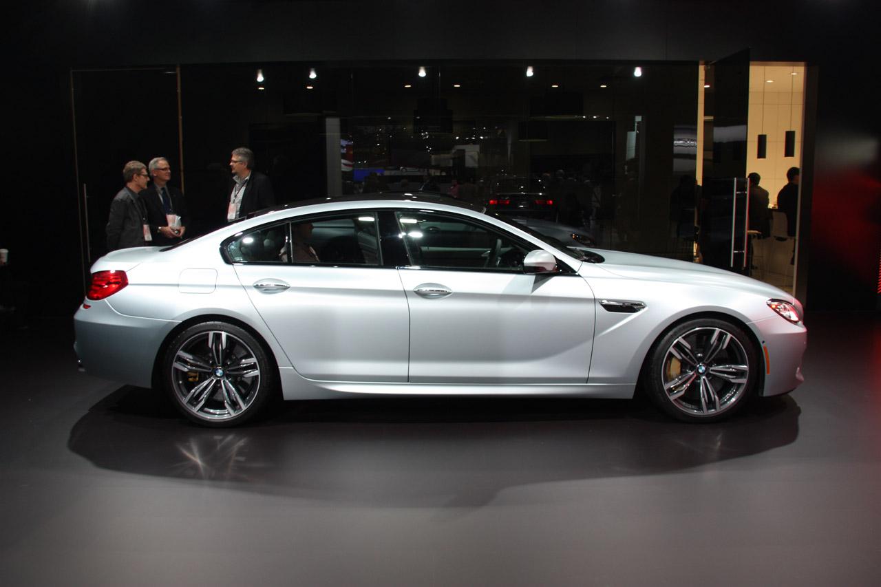 تاپکورس - مجله خودرو 2014 BMW M6 Gran Coupe in Detroit