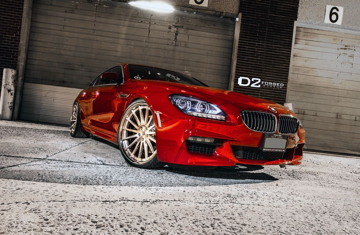 BMW 6 Series Gran Coupe D2FORGED CV15 Wheels