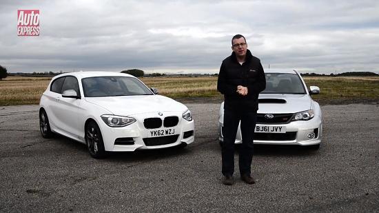 BMW M135i vs Subaru WRX STi 320R