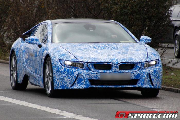 BMW i8 Spyshots